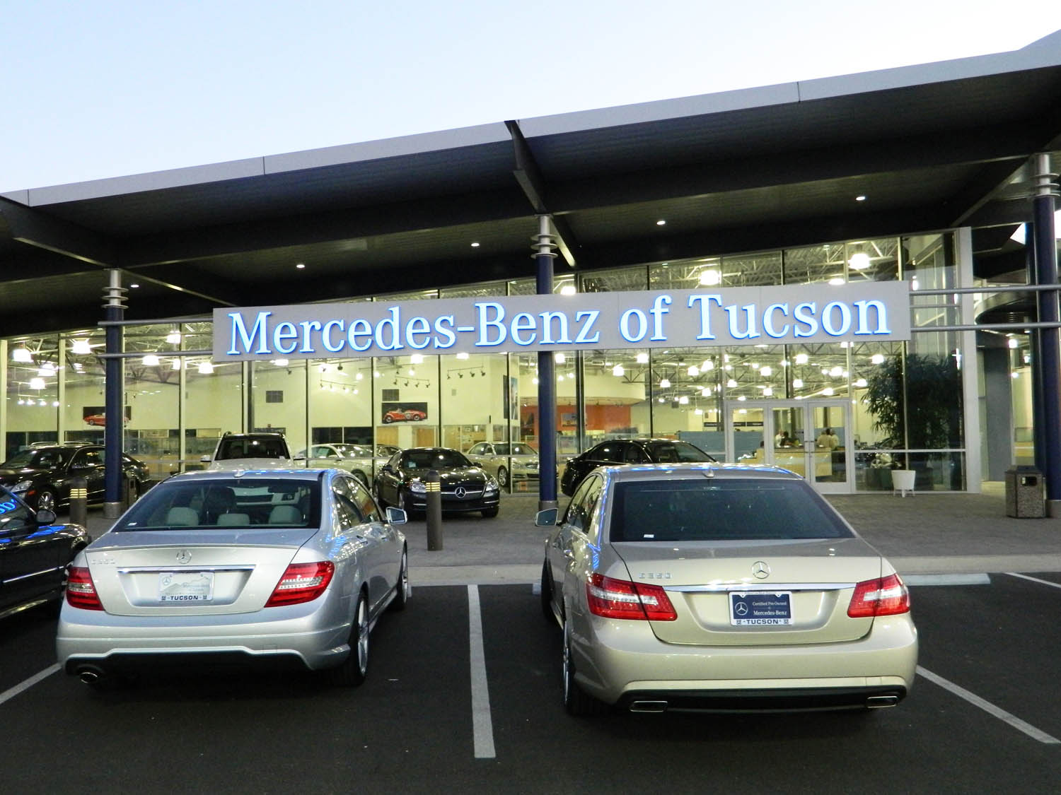Mercedes Benz Tucson >> Chapman Mercedes Benz Of Tucson Tour Business Clubs Of America