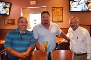 Burns Pest Elimination Guys-Tony Fajardo(l),  Bob Lancy(c), John Ovitz(r)