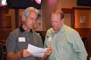 BCA President Jim Perrine(l), Danny Roth(r) Keller Williams Realty